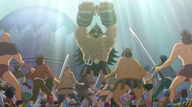 The colosseum fighters from the One Piece New World Saga and Dressrosa Arc