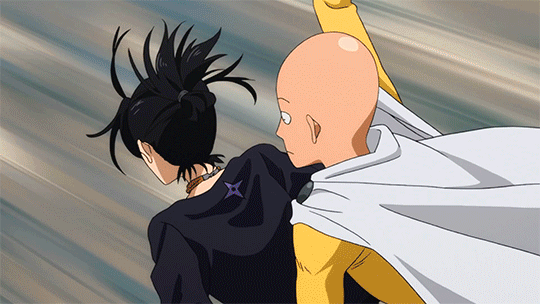 Sonic, the fast One punch Man hero, and Saitama, the ultimate animated superhero out of all the One Punch Man heroes