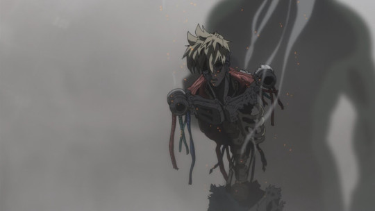 Deep Sea King, the One Punch Man villain, Genos, Saitam's disciple, and Saitama, the ultimate animated superhero out of all the One Punch Man heroes