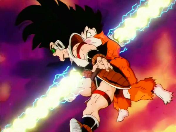 Dragon Ball Z Raditz Goku