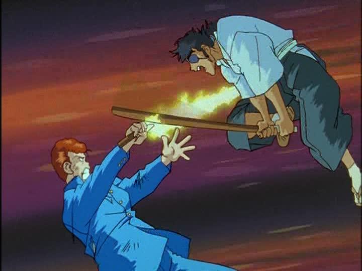 Yuu☆Yuu☆Hakusho: Kazuma Kuwabara anime swords