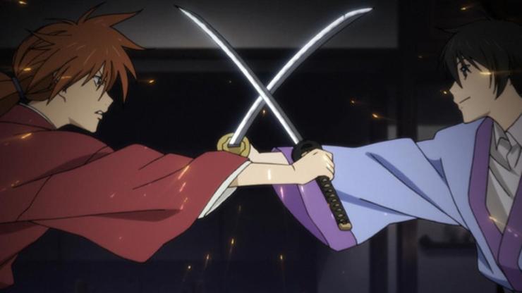 Rurouni Kenshin: Kenshin Humura anime swords