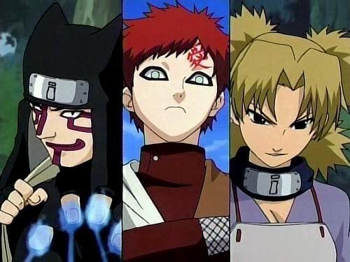 Naruto headbands Sand Village