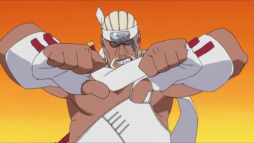 Naruto headbands hidden lightning
