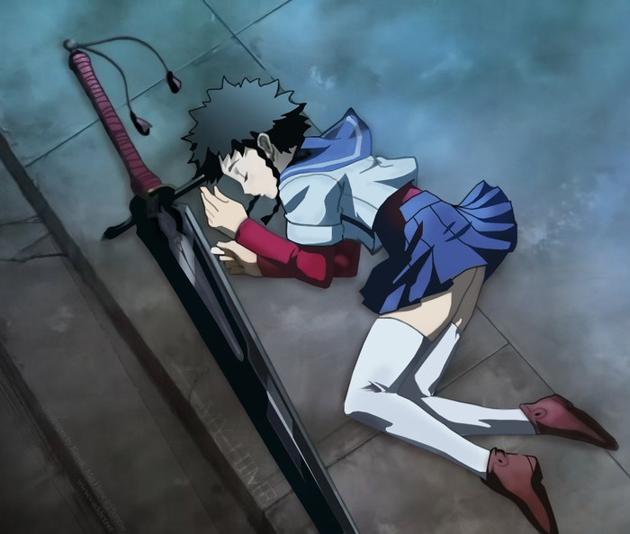Mai-HiME: Mikoto Minagi anime swords