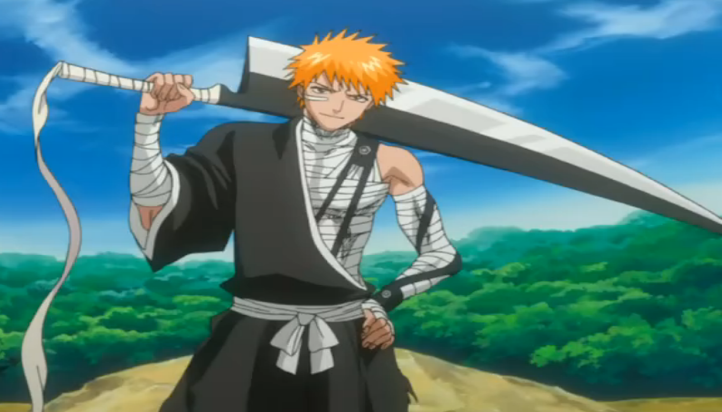Bleach: Ichigo Kurosaki anime swords