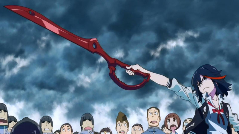 Kill la Kill: Ryuuko Matoi anime swords