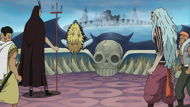 One Piece Kid pirates ship
