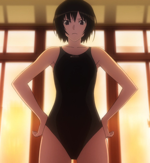 Check out these anime bikini babes from Love Live! and some anime swimsuit hunks! Ai Nanasaki