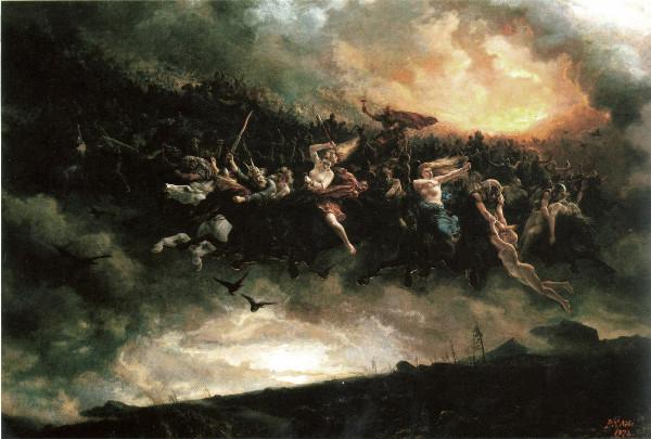 Wild Hunt Odin