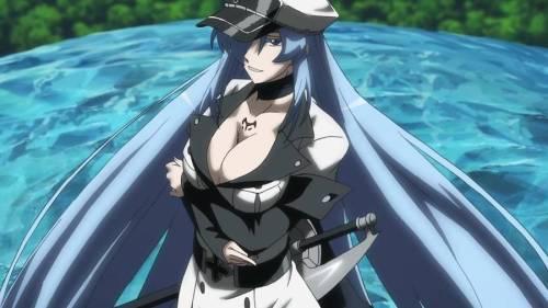Esdeath, Akame ga Kill!, anime water