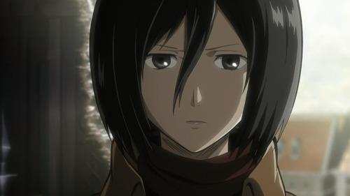 Mikasa Ackerman Attack on Titan Shingeki no Kyojin kuudere