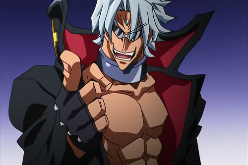 Adam Blade from Needless has hot anime abs!