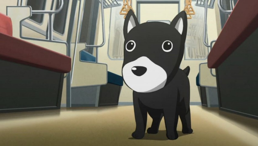 Tokugawa the dog from Miracle Train: Oedo-sen e Youkoso is one of the cutest anime pets ever!