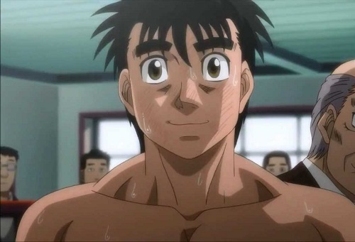 Ippo Makunouchi from Hajime no ippo Fighting Spirit has hot anime abs!