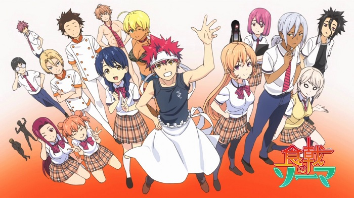 Shokugeki no Souma cooking anime food anime