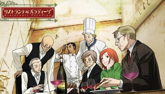 Ristorante Paradiso cooking anime food anime