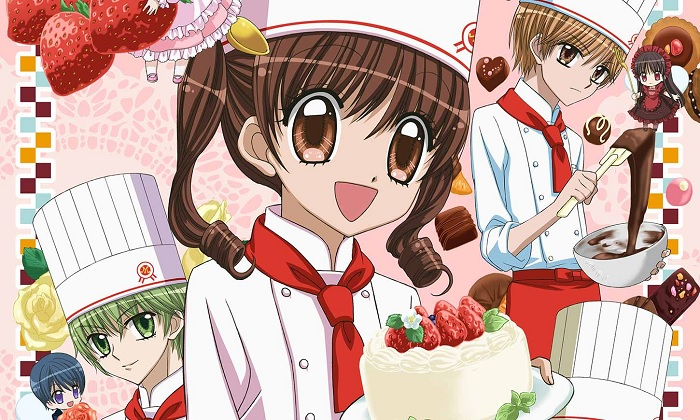 Yume-iro Pâtissière cooking anime food anime