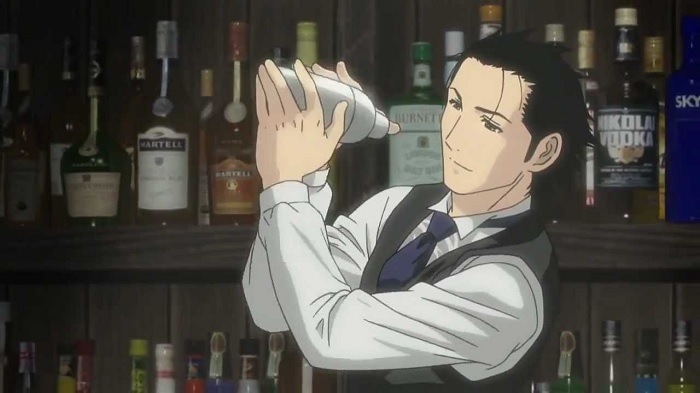 Bartender cooking anime food anime