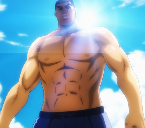 Check out these anime bikini babes from Love Live! and some anime swimsuit hunks! Takeo Gouda