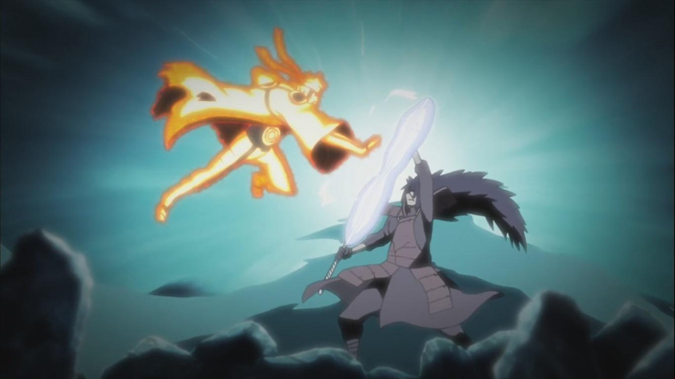 Naruto Naruto Uzumaki versus Uchiha Madara