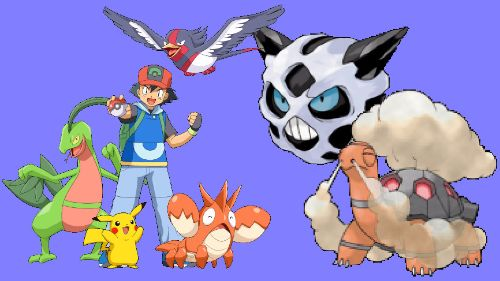 Pokemon Advanced Generation_Hoenn Team
