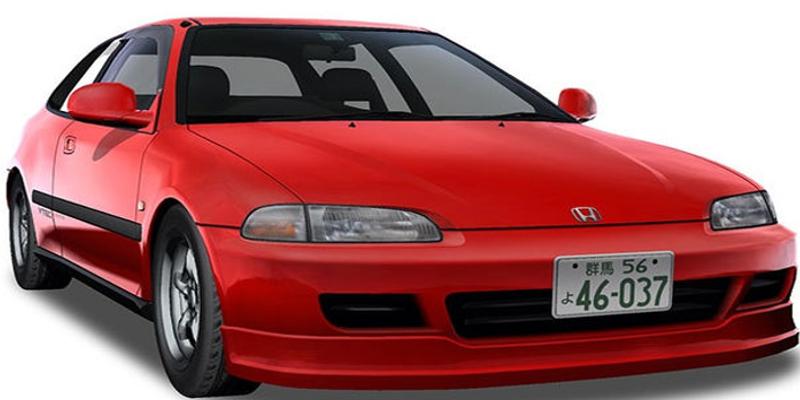 Initial D Honda Civic SiR II