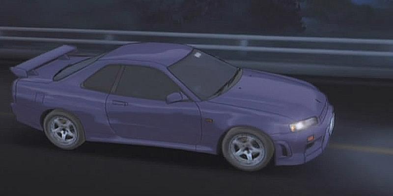 Initial D Anime Nissan Skyline 25GT Turbo