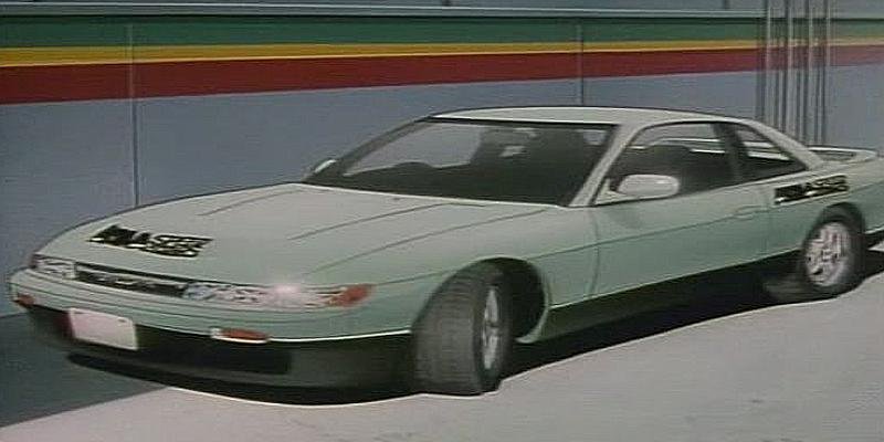 Initial D Anime Nissan Silvia K's