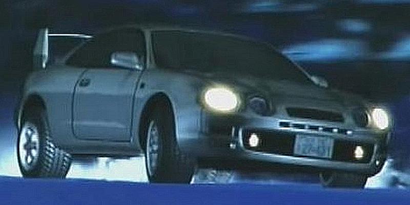 Initial D Anime Toyota Celica GT-Four