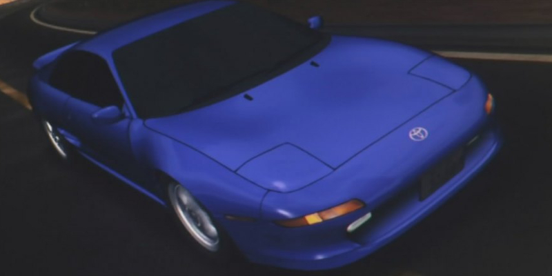 Initial D Anime Toyota MR2 G-Limited