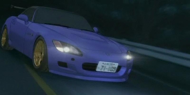 Initial D Anime Honda S2000 Type-V