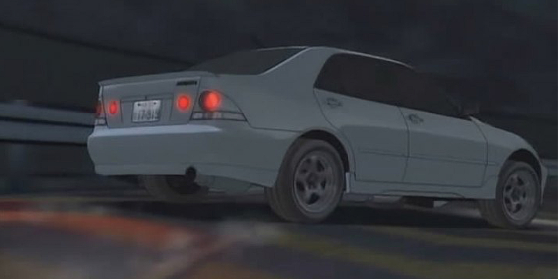Initial D Anime Toyota Altezza RS200