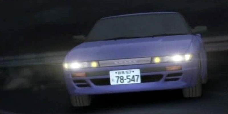 Initial D Anime Nissan Sileighty