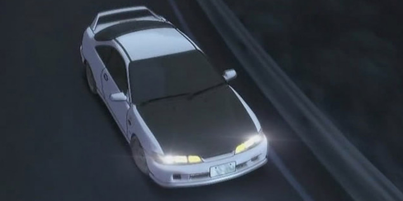 Initial D Anime Honda Integra Type R