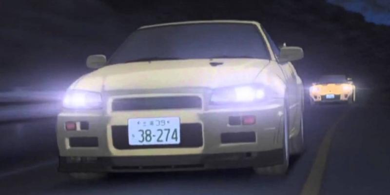 Initial D Nissan GT- R