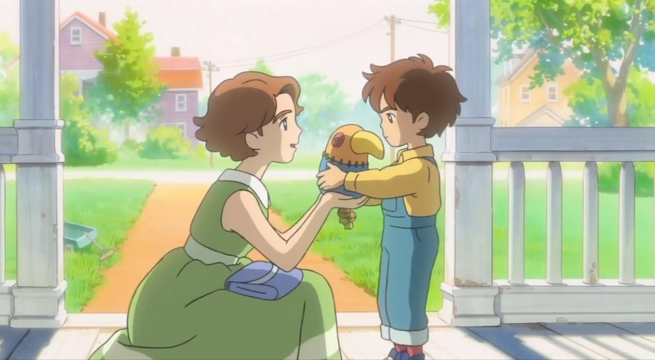 Ni no Kuni: Wrath of the White Witch Studio Ghibli game Oliver and Mom