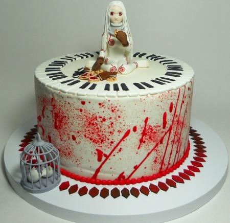 Deadman Wonderland Anime Cake