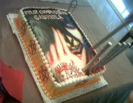 Hellsing Anime Cake