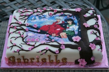 InuYasha Anime Cake