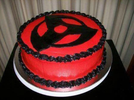 Naruto Shippuden Anime Cake