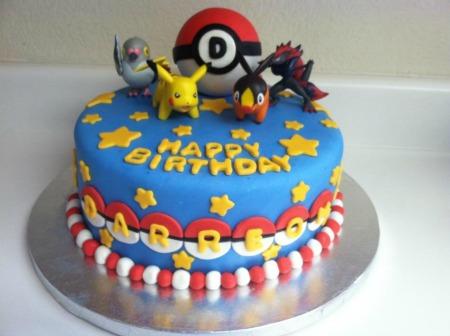 Pokemon Anime Cake