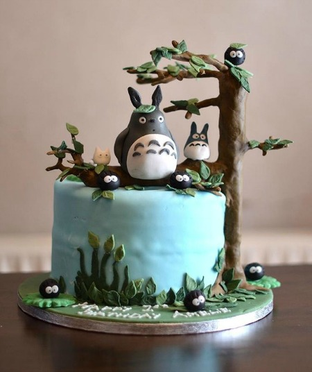 Tonari no Totoro Anime Cake