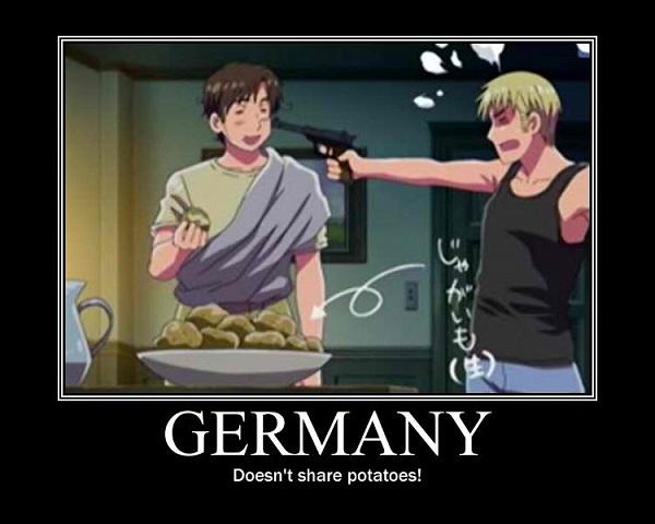 Hetalia Axis Powers Germany
