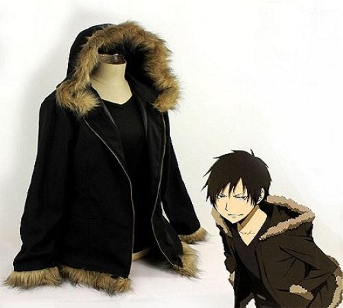 Durarara!! anime jacket, Izaya Orihara