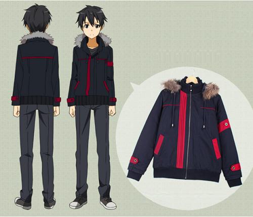 Sword Art Online anime jacket, Kirito