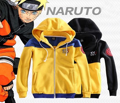 Naruto anime jacket, Naruto