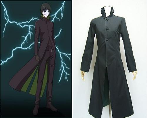 Darker than Black: Kuro no Keiyakusha anime jacket, Hei