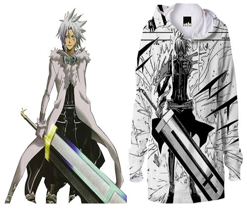 D. Gray Man anime jacket, Allen Walker