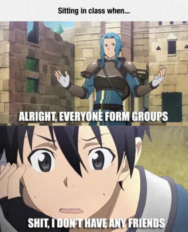 15 of the Funniest Sword Art Online Memes - 12